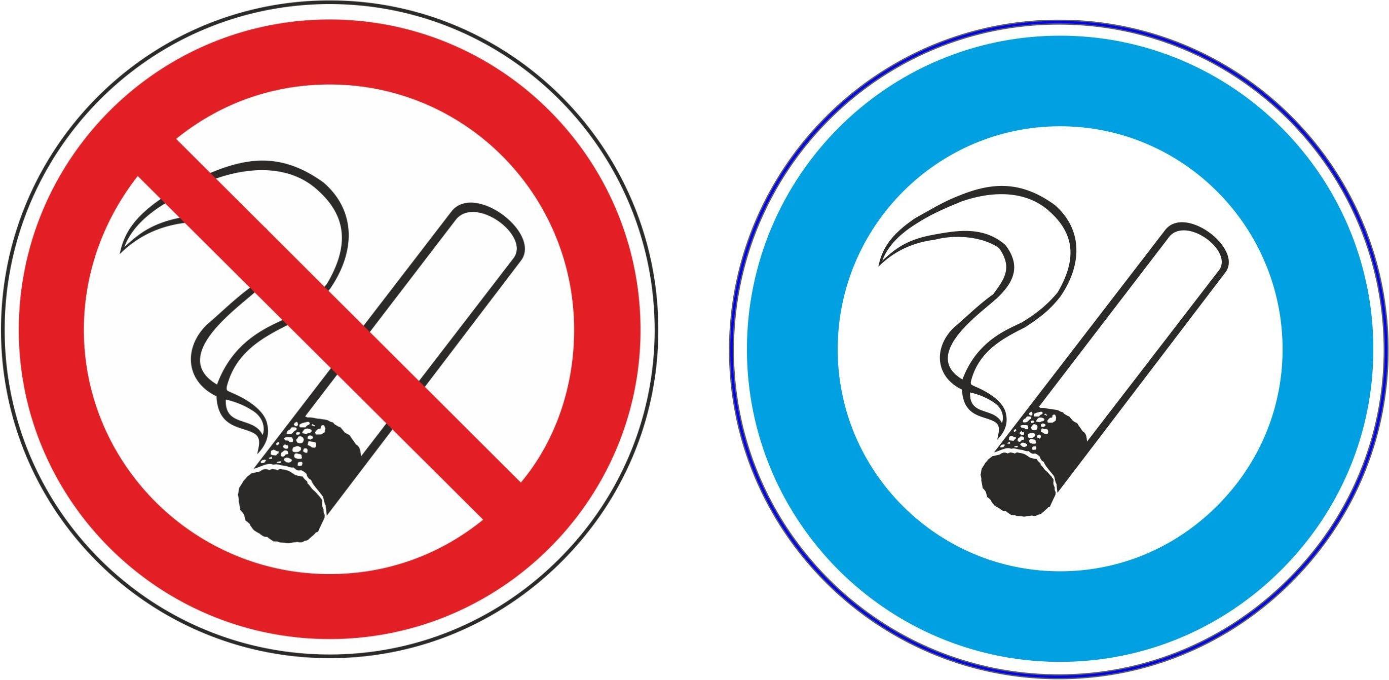 8 st aufkleber rauchen verboten 2 st aufkleber rauchen erlaubt ebay. Black Bedroom Furniture Sets. Home Design Ideas