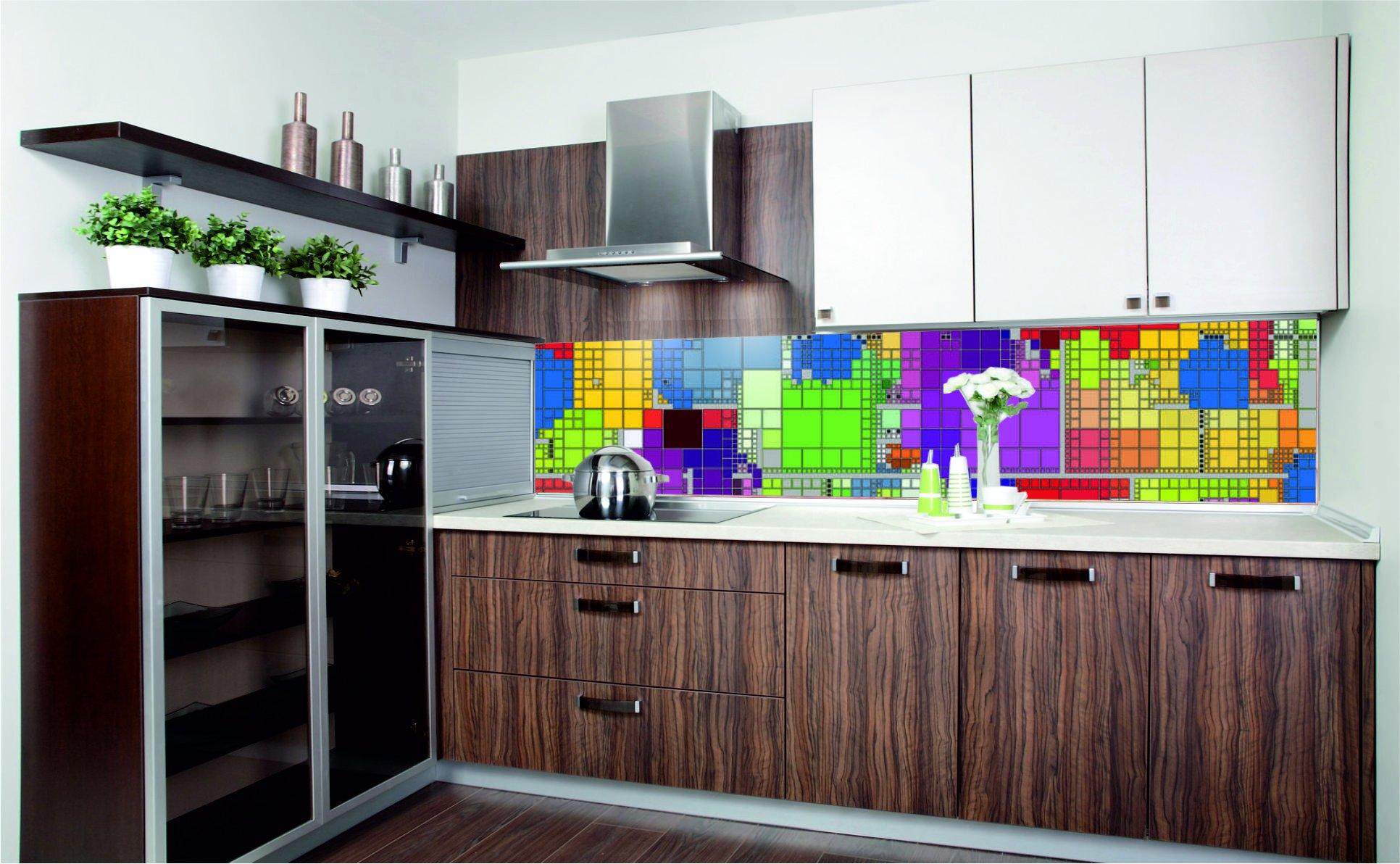 Klebefolien Für Küchen: Rot